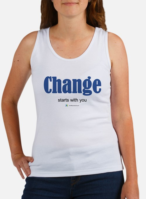 Change starts with you Tank Top