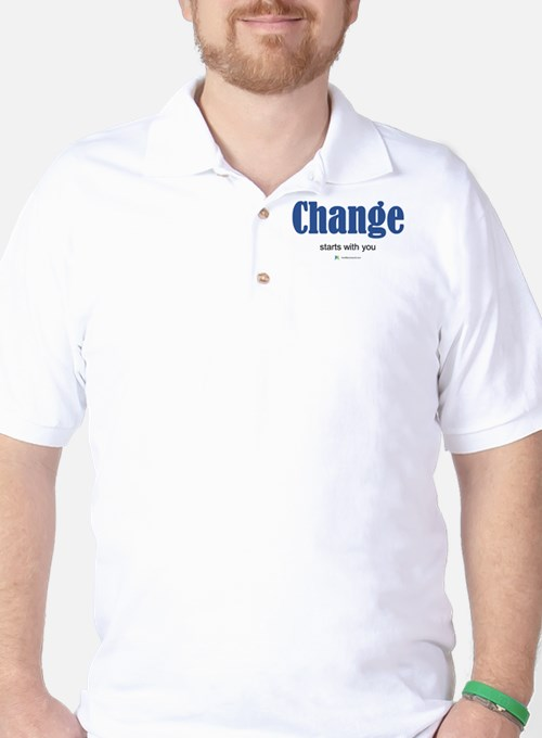 Change starts with you Golf Shirt