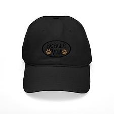 Beagle Mom Oval Baseball Hat