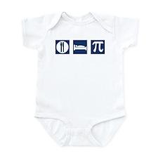Eat Sleep Pi Infant Bodysuit