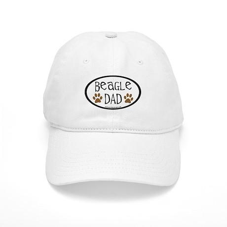 Beagle Dad Oval Cap