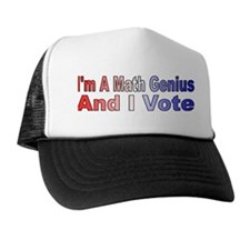 I'm a math genius Trucker Hat