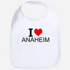 I Love Anaheim Bib