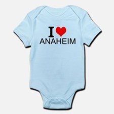 I Love Anaheim Body Suit