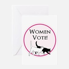 Women Vote! Greeting Cards