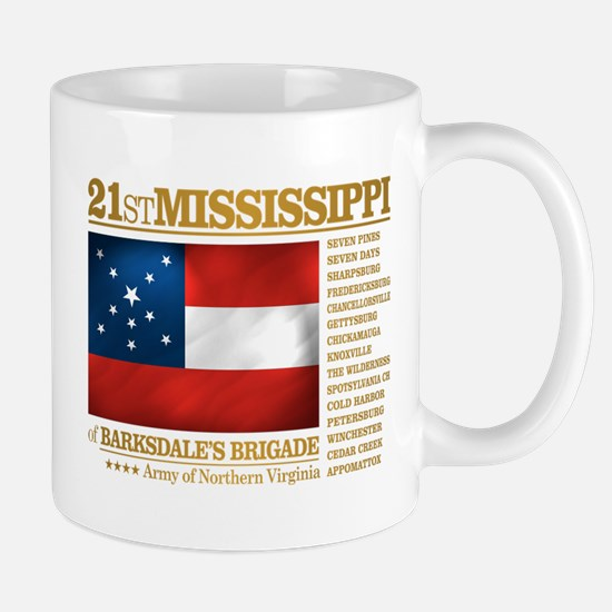 21st Mississippi Infantry Mugs