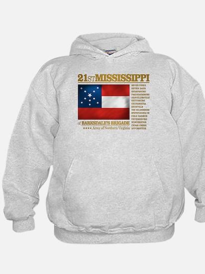 21st Mississippi Infantry Hoodie