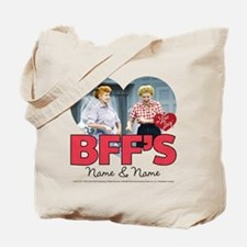 BFFs Personalized Tote Bag