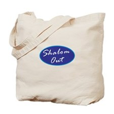 Shalom Out Tote Bag
