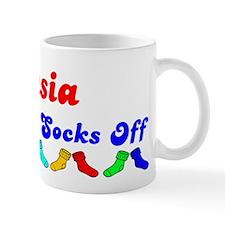 Dasia Rocks Socks (B) Mug