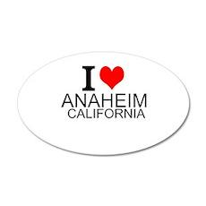 I Love Anaheim, California Wall Decal