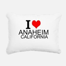I Love Anaheim, California Rectangular Canvas Pill