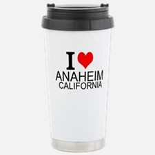 I Love Anaheim, California Travel Mug