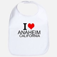 I Love Anaheim, California Bib