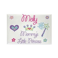 Molly - Mommy's Little Prince Rectangle Magnet