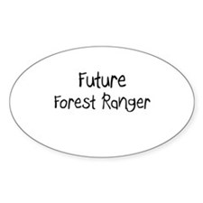 Future Forest Ranger Oval Decal