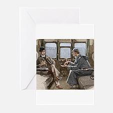 Sherlock Holmes and Dr. Watson Greeting Cards