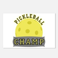 Pickleball Champ Postcards (Package of 8)