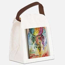 Funny Acrylics Canvas Lunch Bag