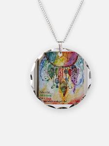 Funny Watercolor Necklace