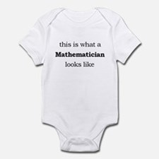 What a Mathematician Looks LIke Infant Bodysuit