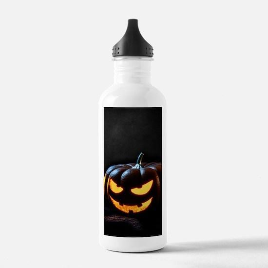 Halloween Pumpkin Jack Sports Water Bottle