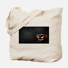 Halloween Pumpkin Jack-O-Lantern Spooky Tote Bag