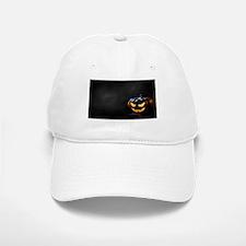 Halloween Pumpkin Jack-O-Lantern Spooky Baseball Baseball Cap