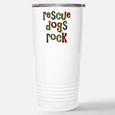 Cute Rescue dogs Travel Mug