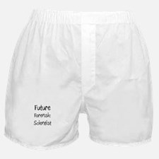 Future Forensic Scientist Boxer Shorts