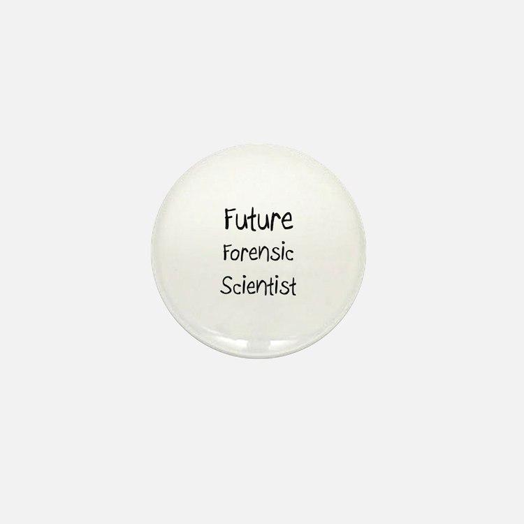 Future Forensic Scientist Mini Button