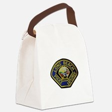 Long Beach PD Explorer Canvas Lunch Bag