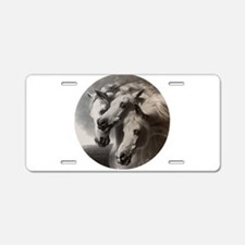 The Pharaoh's Horses Aluminum License Plate