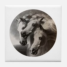 The Pharaoh's Horses Tile Coaster
