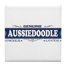 AUSSIEDOODLE Tile Coaster