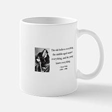 Oscar Wilde 3 Mug