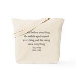 Oscar Wilde 3 Tote Bag