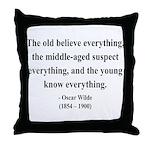 Oscar Wilde 3 Throw Pillow