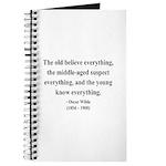 Oscar Wilde 3 Journal