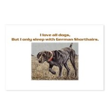 Sleeps with Pointers Postcards (Package of 8)