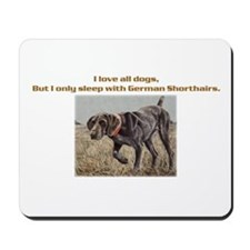 Sleeps with Pointers Mousepad