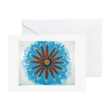 mystic flower Greeting Cards (Pk of 10)