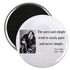 Oscar Wilde 4 Magnet