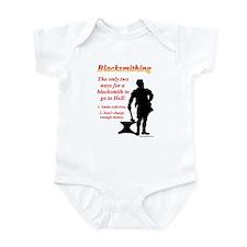 How Blacksmiths Go To Hell Infant Bodysuit