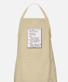 Proof:  Women = Problems? BBQ Apron