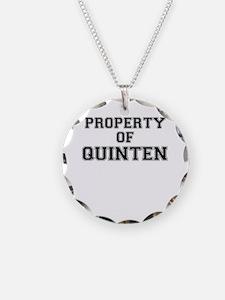 Property of QUINTEN Necklace