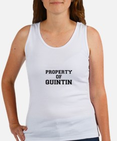 Property of QUINTIN Tank Top