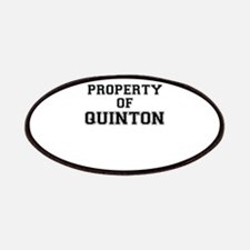 Property of QUINTON Patch