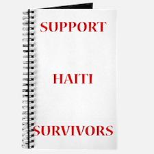 Support Haiti Survivors Journal