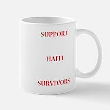 Support Haiti Survivors Mugs